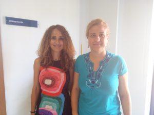 Mª José Mayorga y Lola Madrid, investigadoras de la UMA.